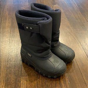 Tundra Teddy 4 Navy Snow Boots Size 11